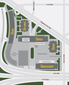 Columbia Plaza Site Plan