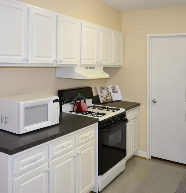 One Bedroom Apartments Kitchen in Foggy Bottom DC