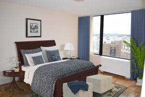 Master Bedroom in rental apartment near George Washington University