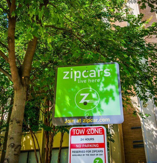 Foggy Bottom Apartments Photo Gallery - Zip Car location in Foggy Bottom DC