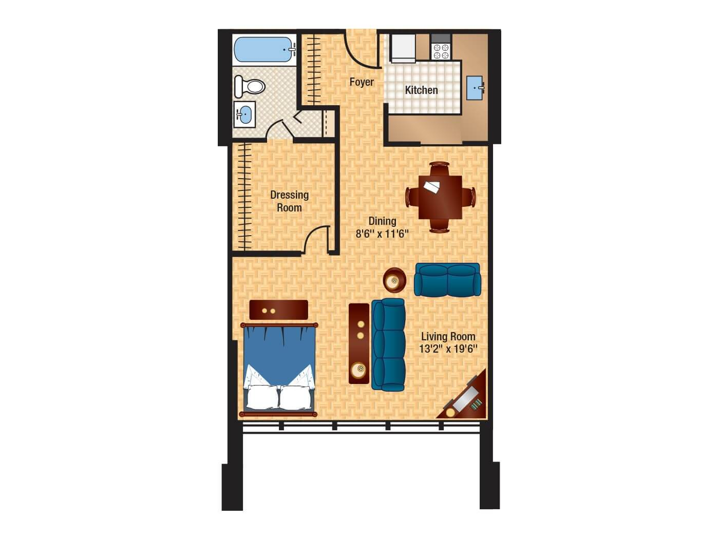 baron apartment building floor plans columbia plaza. Black Bedroom Furniture Sets. Home Design Ideas